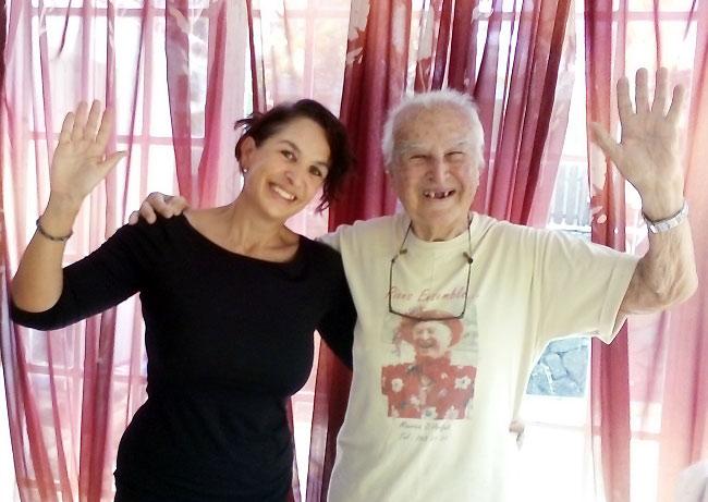 Terapia della risata-Anziani Genova