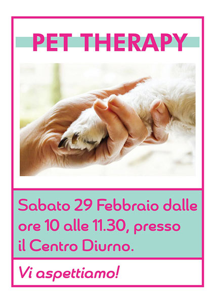 Pet Therapy Anziani Casa Don Guanella Albaro